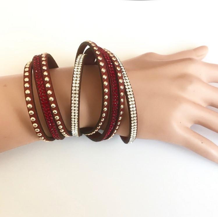Bra 01 bracelet en strass