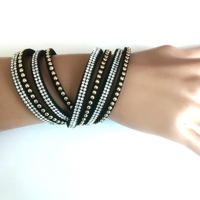 Bra 02 bracelet en strass