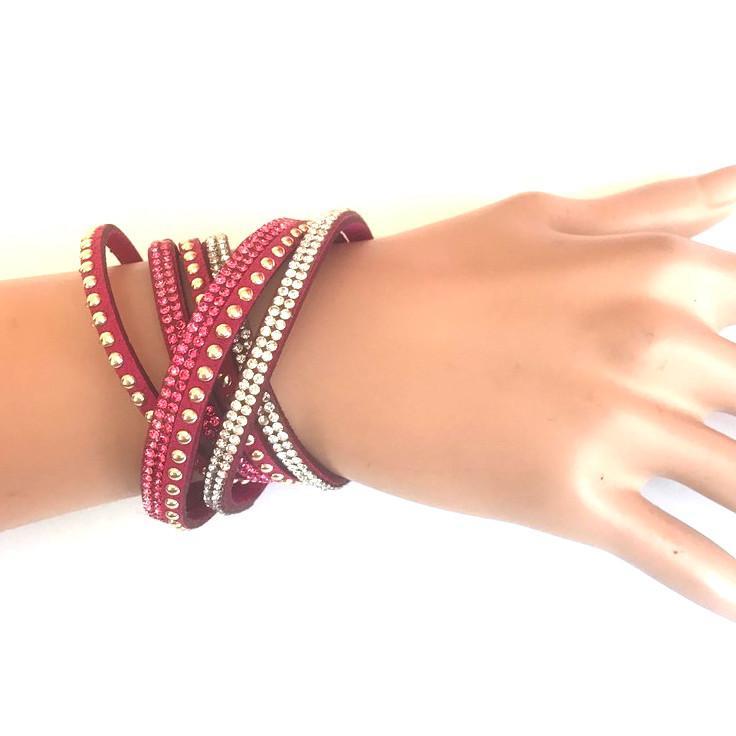 Bra 04 bracelet en strass