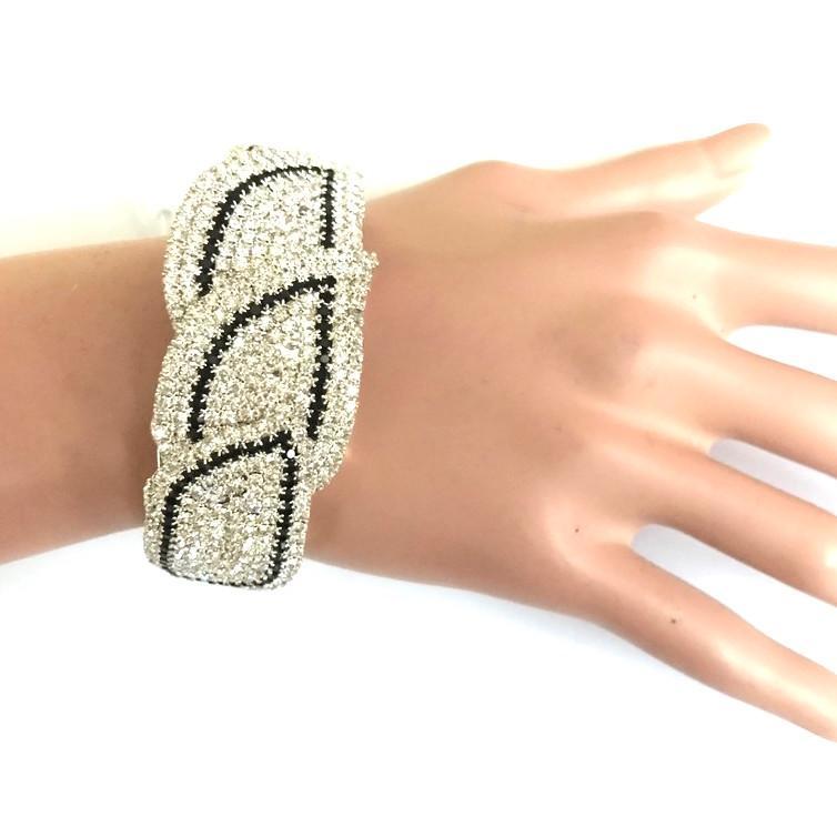 Bra 07 bracelet en strass