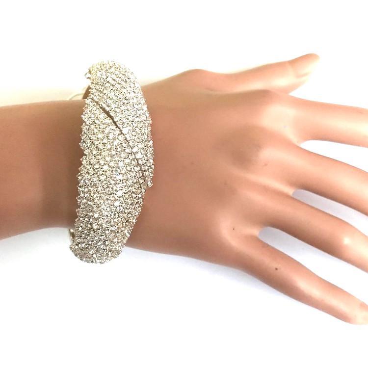 Bra 08 bracelet en strass