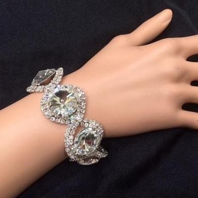 Bracelet en strass