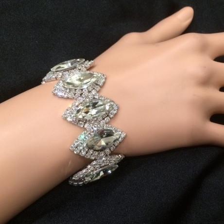 Bra 13 bracelet en strass