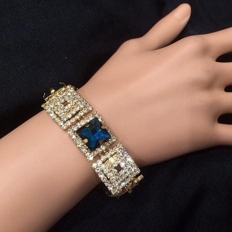 Bra 14 bracelet en strass