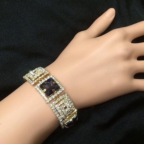 Bra 15 bracelet en strass
