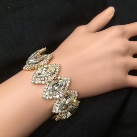 Bra 16 bracelet en strass