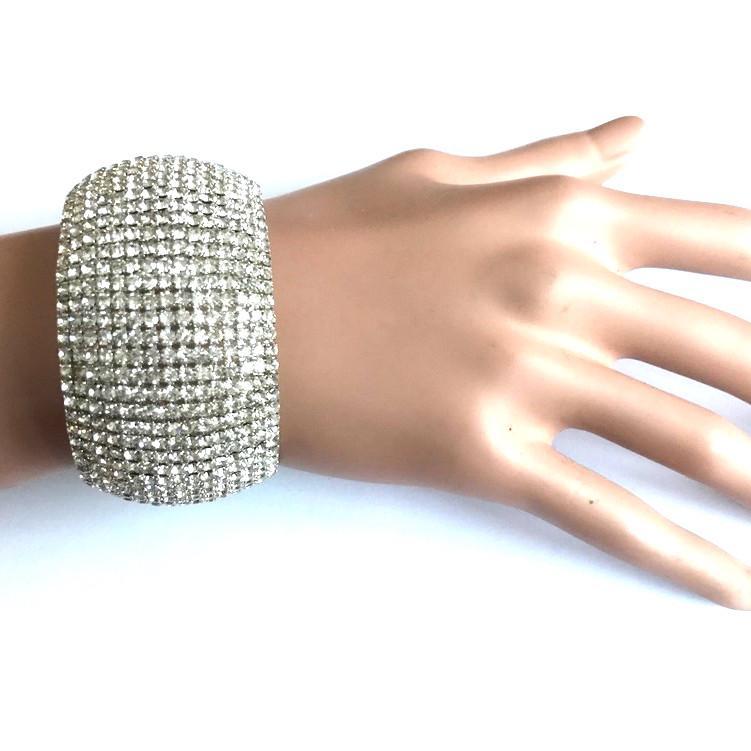 Bra 17 bracelet en strass