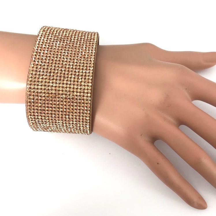 Bra 19 bracelet en strass