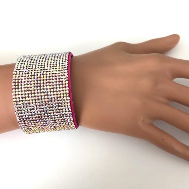 Bra 24 bracelet en strass