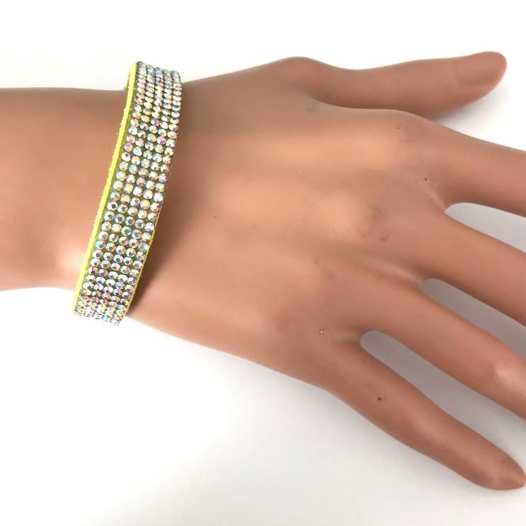 Bra 31 bracelet en strass