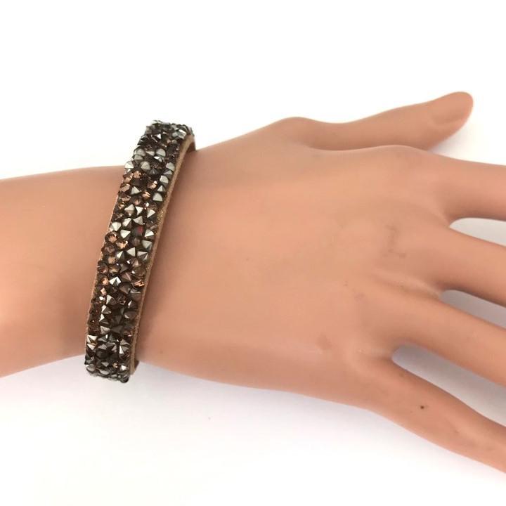 Bra 32 bracelet en strass