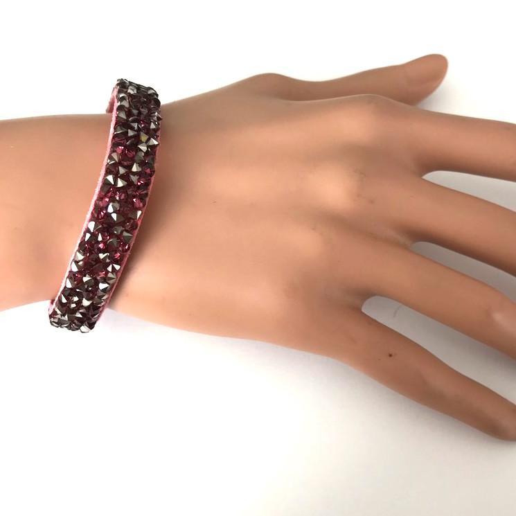 Bra 33 bracelet en strass
