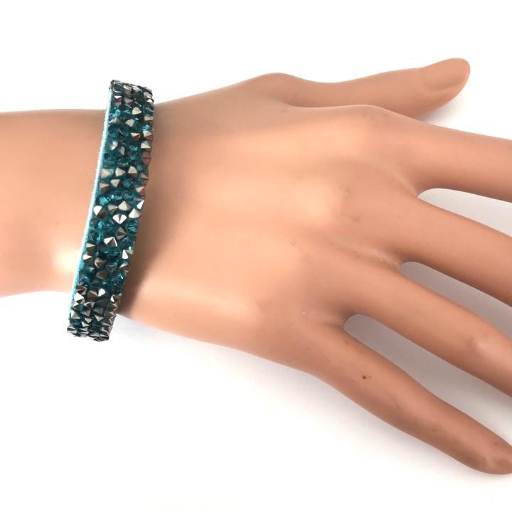 Bra 38 bracelet en strass