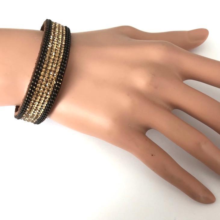 Bra 39 bracelet en strass