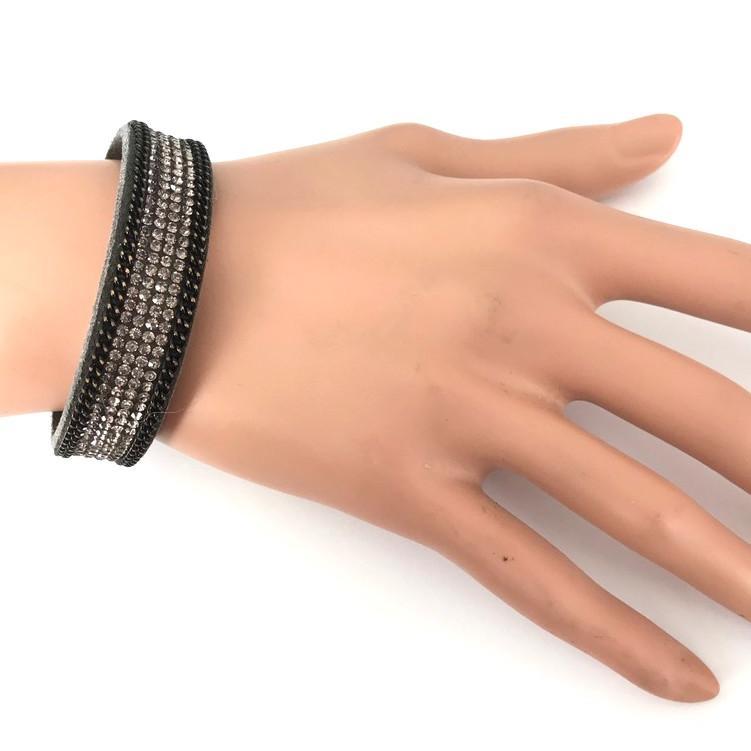 Bra 40 bracelet en strass