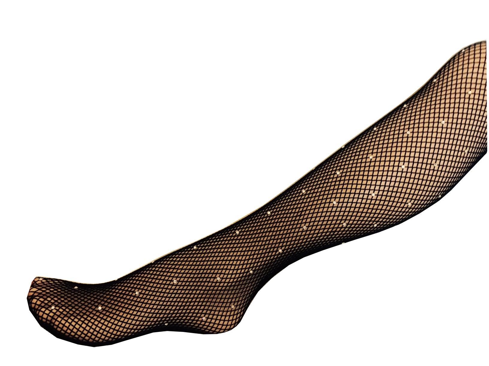 Collant resille strasse noir qualite professionnel pour danse
