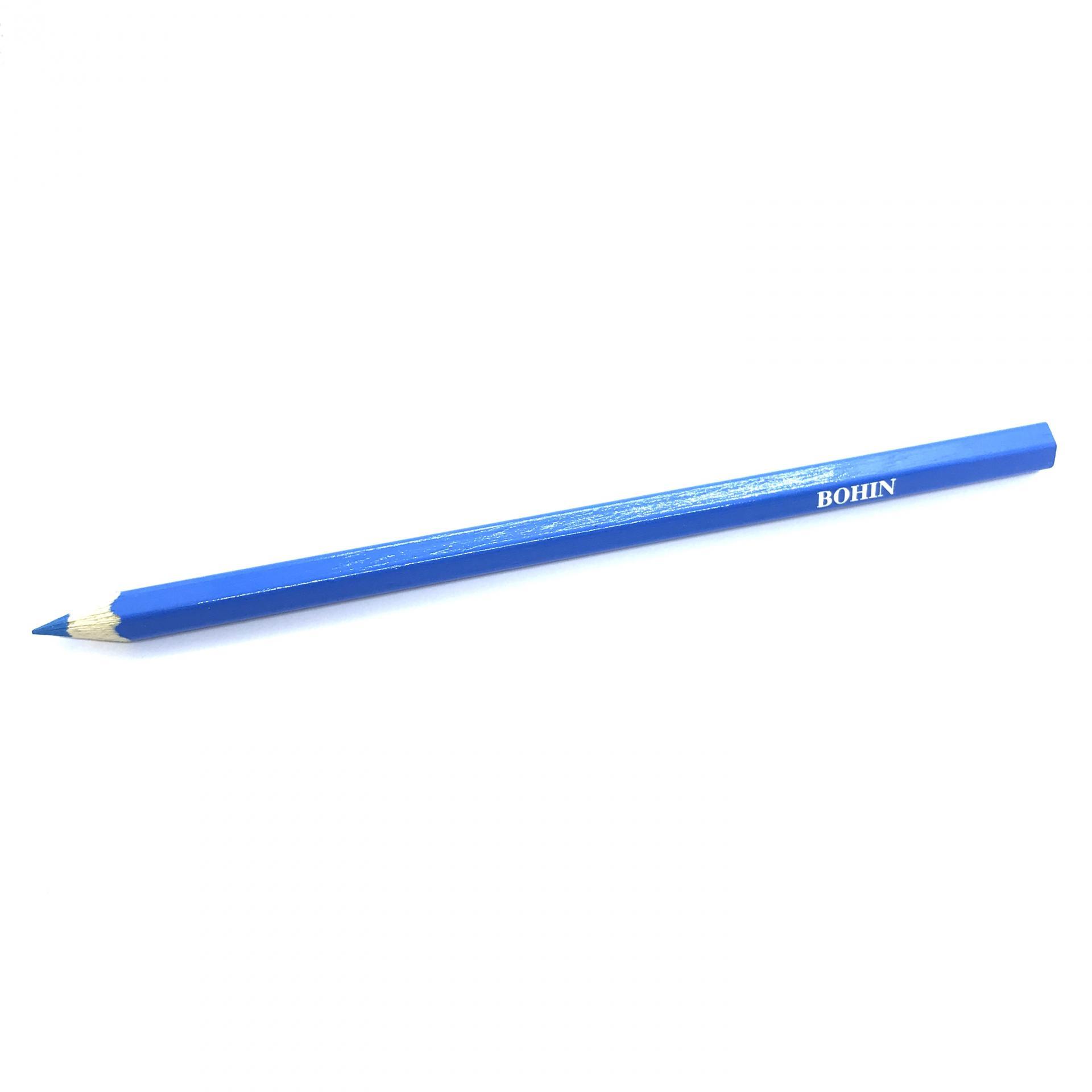 Crayon craie de couture bohin bleu
