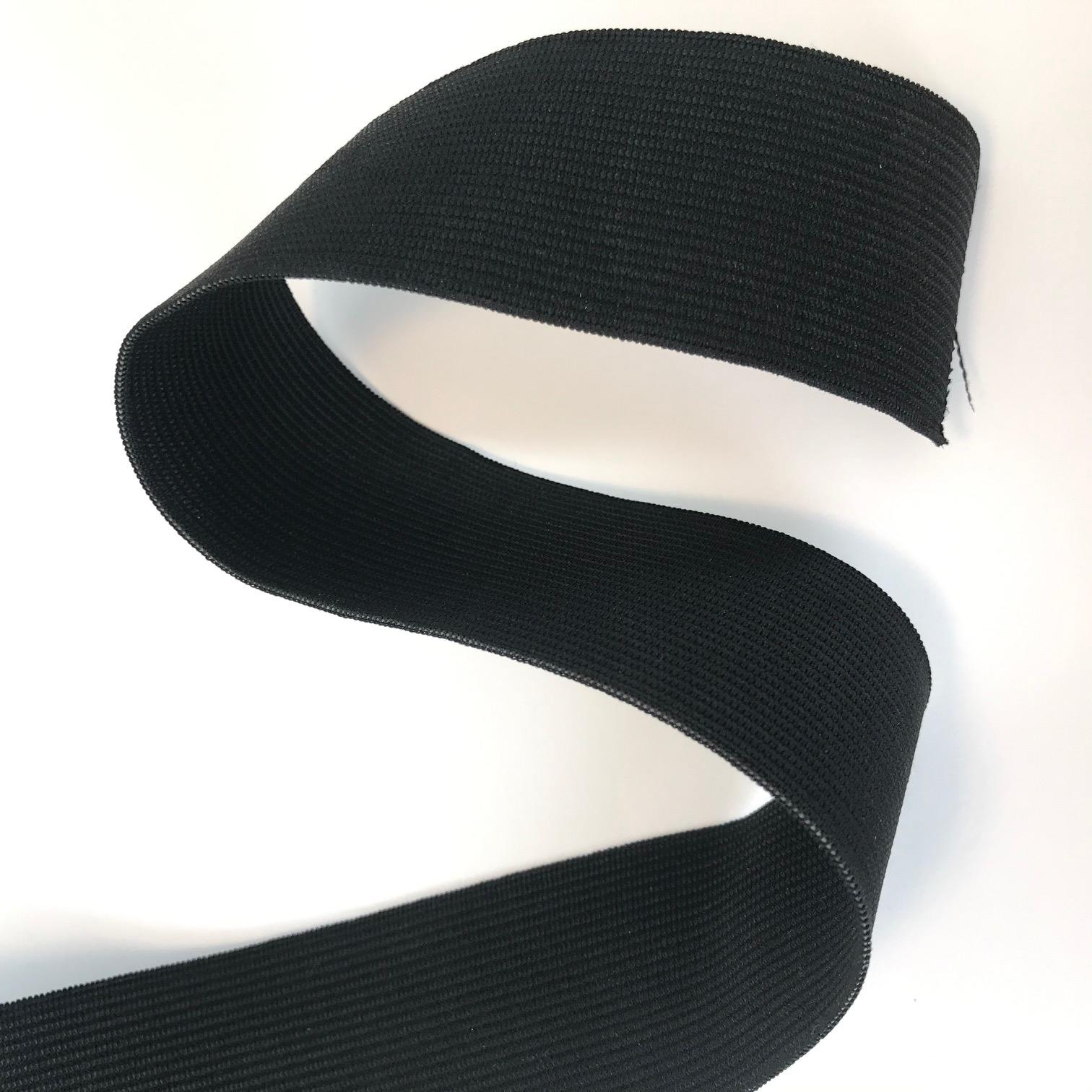 Elastique plat 40mm noir