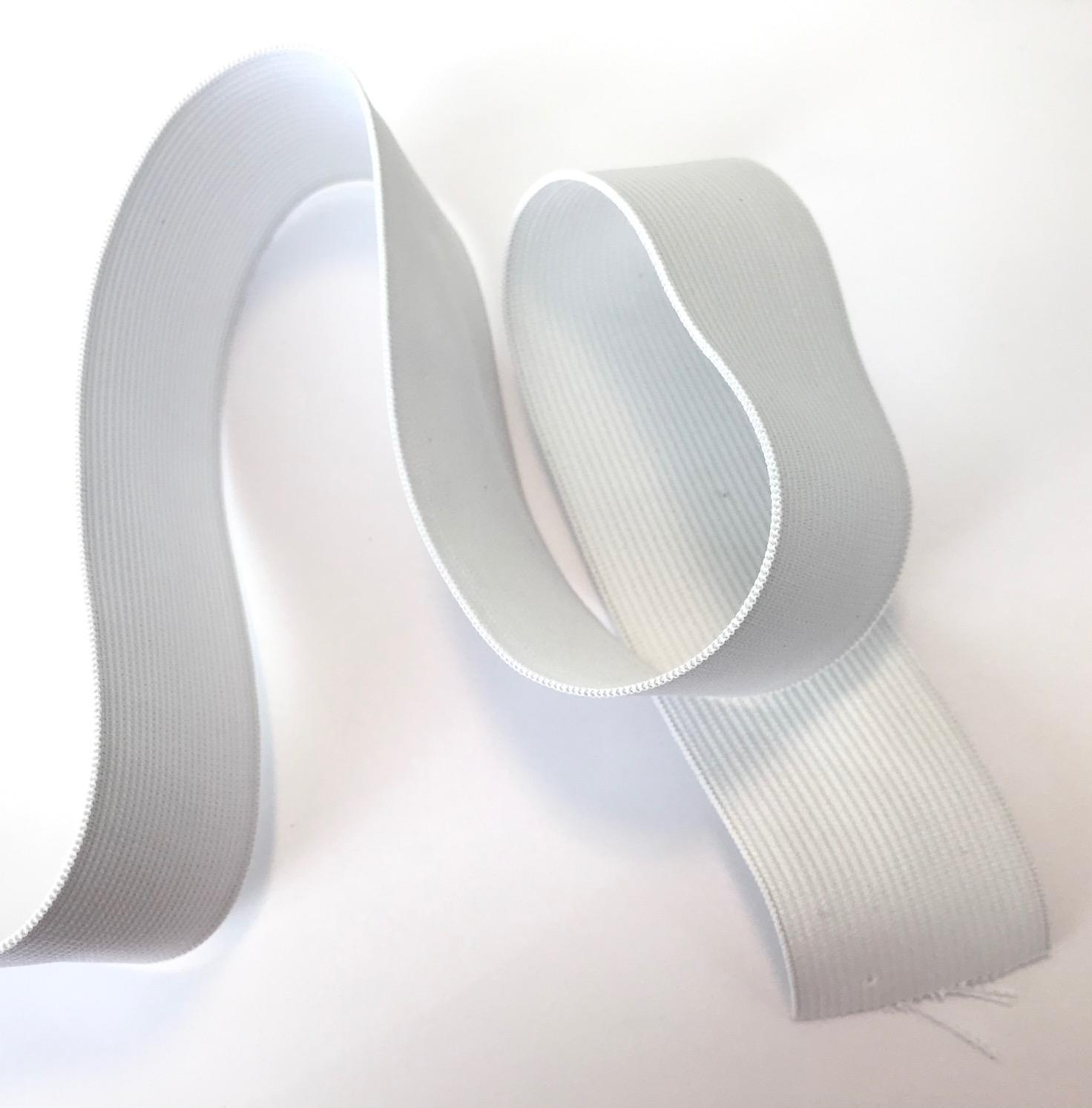 Elastique plat blanc 40mm