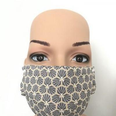 Masque en tissu enfant avec pont de nez