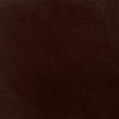 Masque en tissu adulte avec pont de nez chocolat