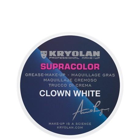Maquillage blanc clown kryolan 1081 1082 1083
