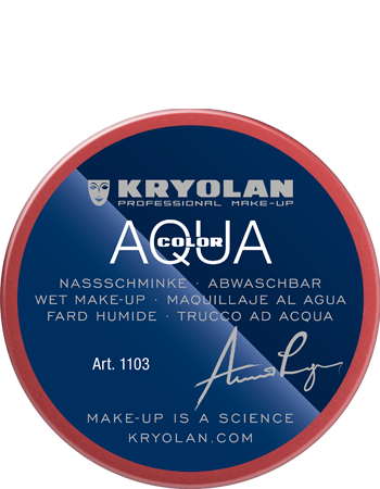 Maquillage kryolan aquacolor 1103 079 rouge