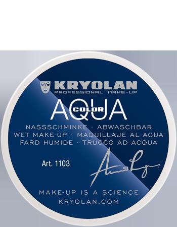 Maquillage kryolan aquacolor 1103 70 blanc