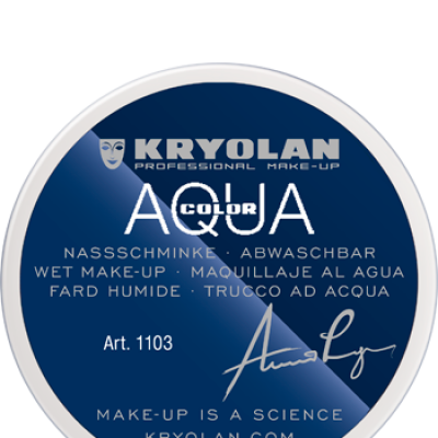 Aquacolor 1103 70  Blanc - Kryolan