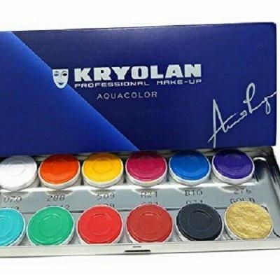 Palette Aquacolor 1104FP - Kryolan