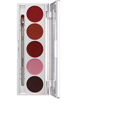 Maquillage kryolan palette rouge a levres 1215 lrs121
