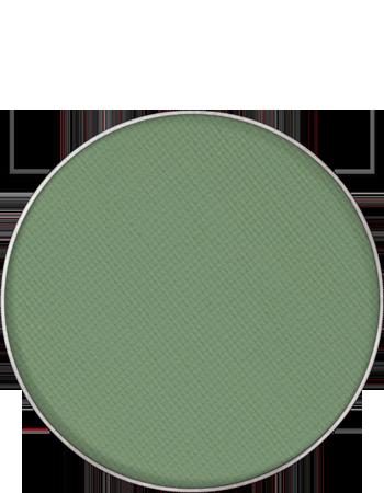 Maquillage kryolan pastille de recharge palette fard a paupieres sec mat 55330 emeuraude