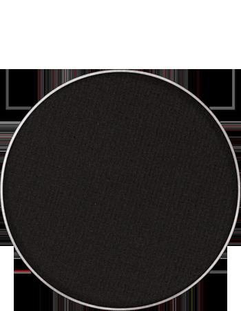 Maquillage kryolan pastille de recharge palette fard a paupieres sec mat 55330 noir