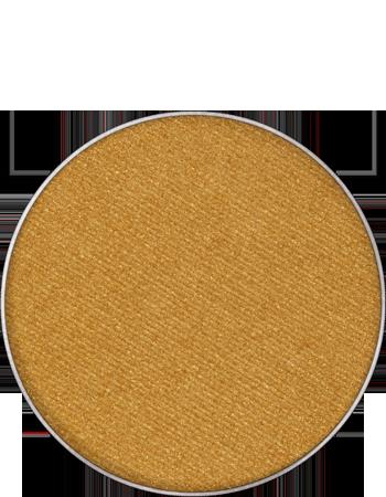 Maquillage kryolan pastille de recharge palette fard a paupieres sec mat 55330 or gold