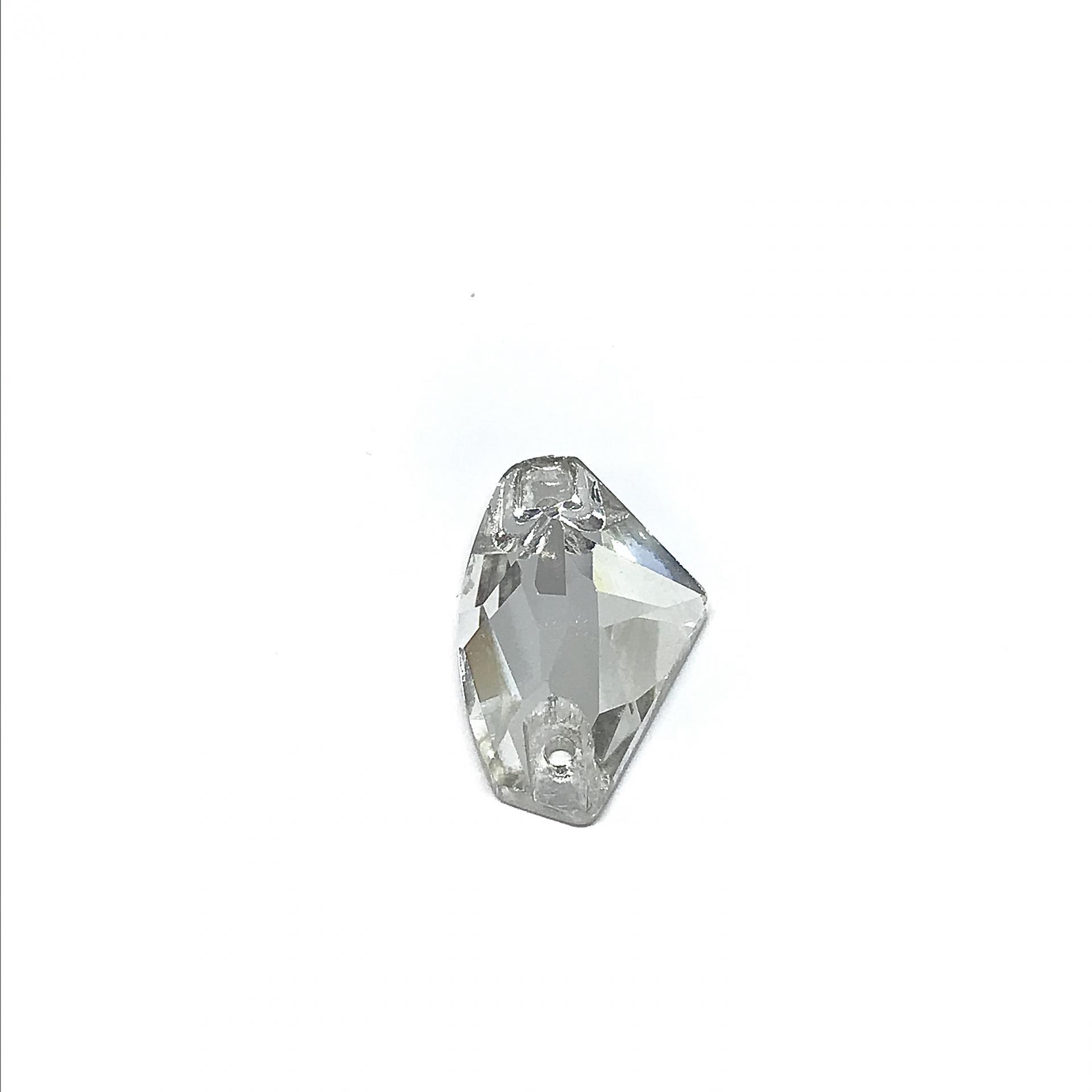 Pierre a coudre en verre cristal 12 19 8072