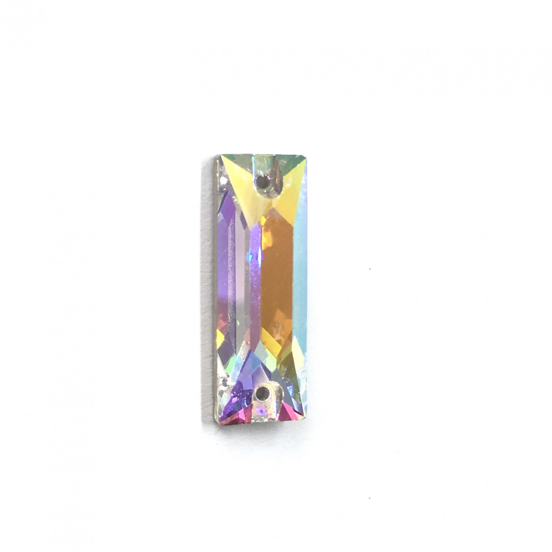 Pierre a coudre en verre cristal ab 9 25 8073