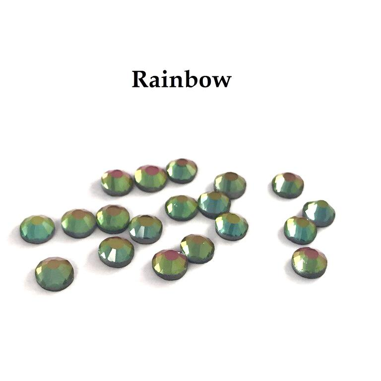 Strass hotfix thermocollant ss16 rainbow 4mm