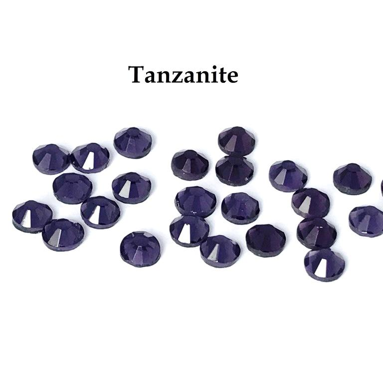 Strass hotfix thermocollant ss16 tanzanite 4mm