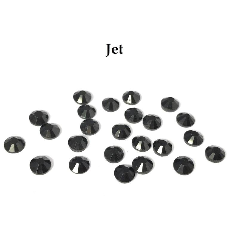 Strass hotfix thermocollant ss20 5mm jet