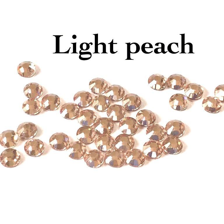 Strass hotfix thermocollant ss20 5mm light peach