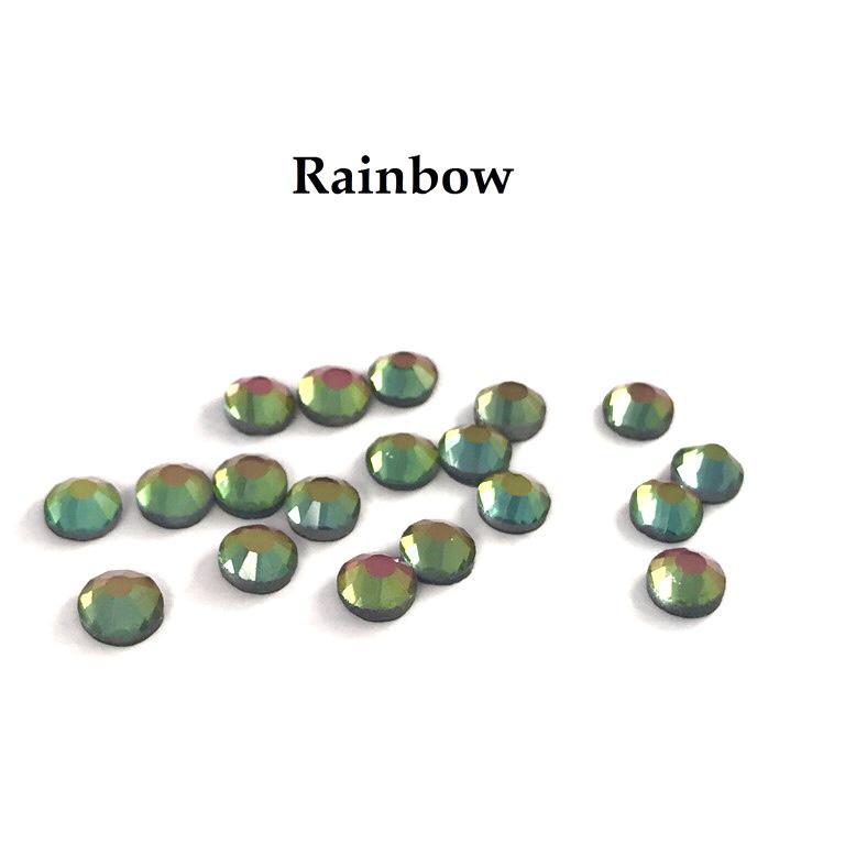Strass hotfix thermocollant ss20 rainbow 5mm