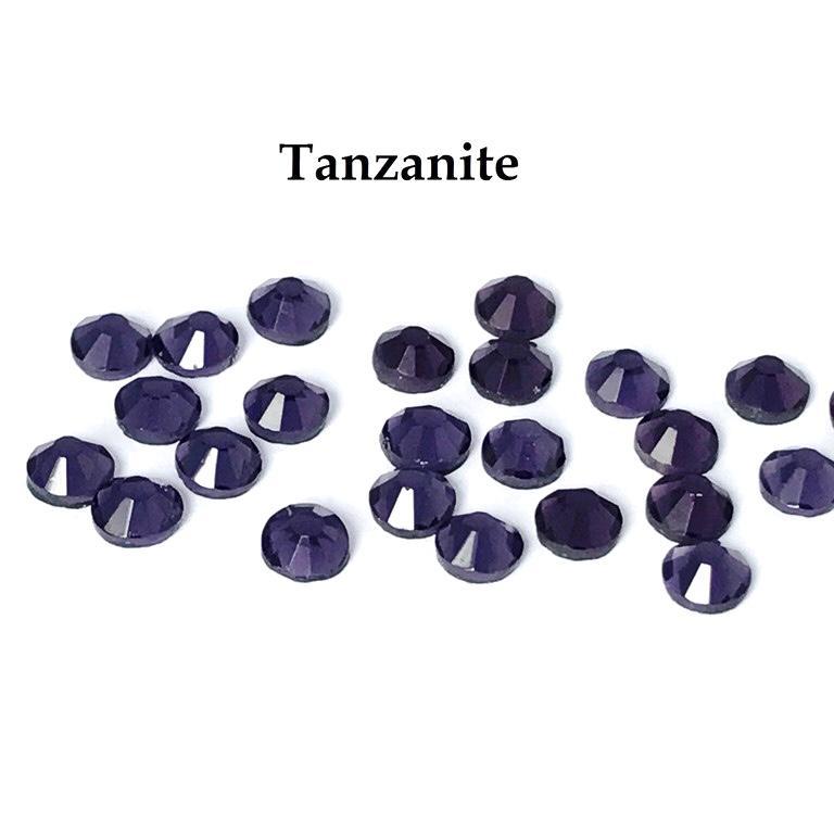 Strass hotfix thermocollant ss20 tanzanite 5mm