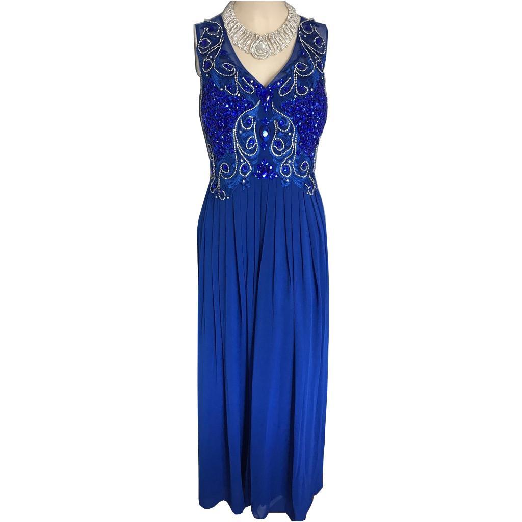 Tenue de scene robe de soiree en strass 3