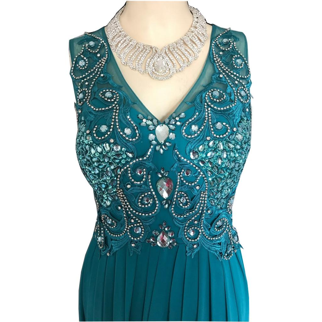 Tenue de scene robe de soiree en strass 6g