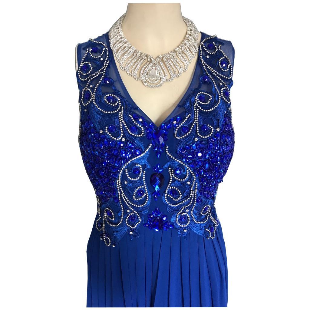 Tenue de scene robe de soiree strass g3