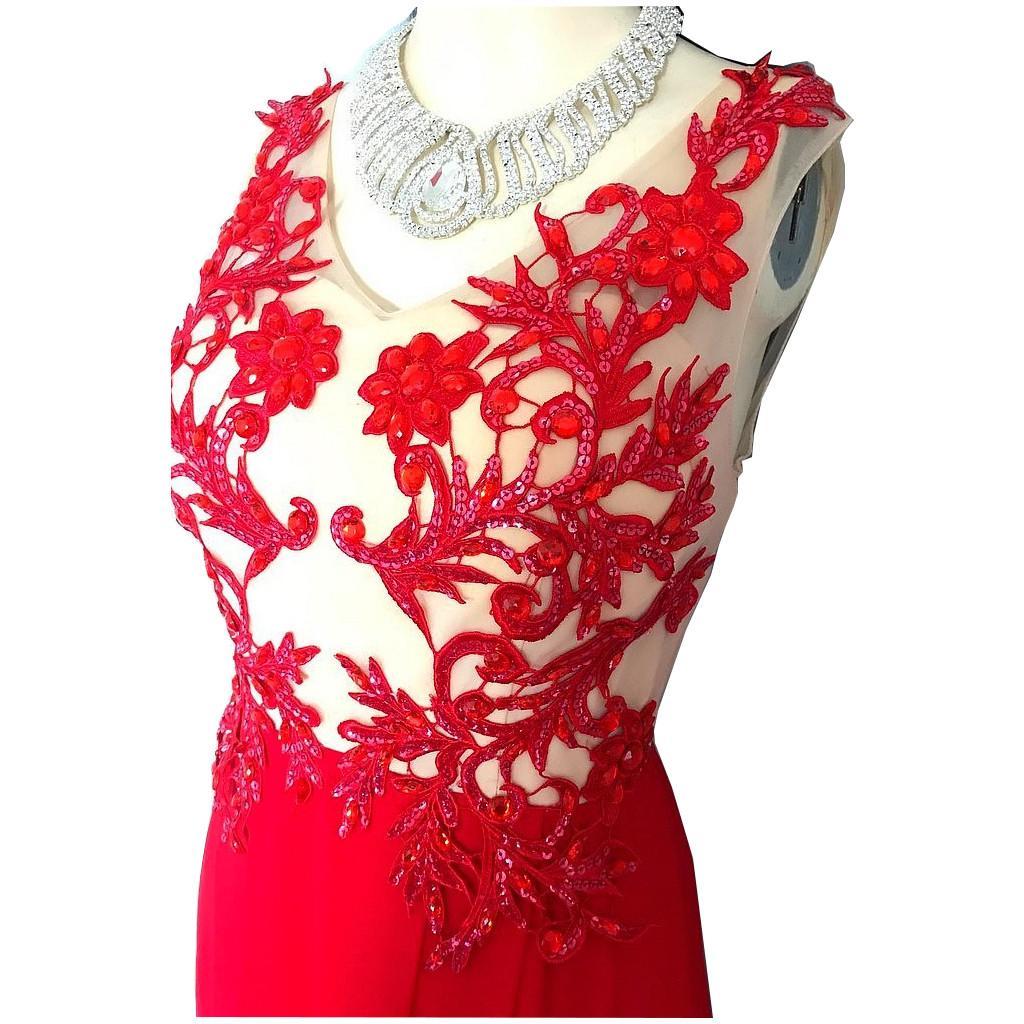 Tenue de scne robe de soiree en strass gc00